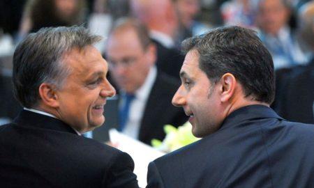 Orbán Viktor és Lázár János